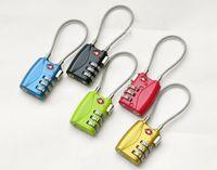 Wholesale 50 Digit Combination Padlock Suitcase Travel Lock TSA719 locks Luggage Padlock DHL Fedex