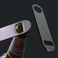 pvc steel handle - High Quality Custom PVC Rubber Coating Handle Bartender Tool Opener Type Stainless Steel Bar Blade Bottle Opener