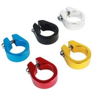 Wholesale Bicycle Cycle Mountain Bike mm Seat Post Clamp Alloy Quick Release F00077 SMA