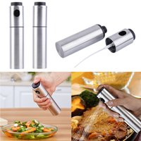 Wholesale high quality Stainless Olive Mister Oil Spray Pump Fine Bottle Oil Sprayer Pot Cooking Roast Bake Oil Bottle Tools Oil Dispenser