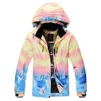 Wholesale Woman Outdoor snow jackets snowboard jacket womens skiing jacket waterproof ski coat for women sportswear warm breathable