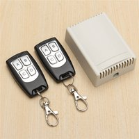 Wholesale High Quality V A CH M Wireless Remote Control Relay Switch Transceiver with Receiver Compatible with