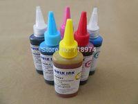 Wholesale Sweden post ml printer ink for Epson Stylus Photo W T0791 T0796 vivid color dye ink