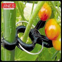 Wholesale 10pcs High Quality Durable Plastic Sling Clips Fastener Plant Vines Tomato Fix Joint Flower Vegetable Tendril Binder Farming Clip