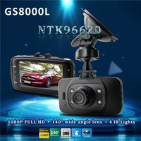 Wholesale 2016 hot gs8000l manual car camera car dvr Car Camera Recorder inch LCD G Sensor HDMI FPS IR Night Vision dvr