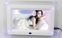 acrylic mirror panel - brand new Inch Multifunctional HD Digital Photo Frame Electronic Picture Album with Mirror Panel Music Video Ebook Time Alarm