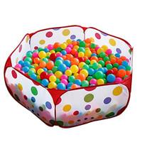 Wholesale Foldable Children Portable Inflatable Ball Pit Pool Kids Playground Outdoor Indoor Play Tent with Carry Bag