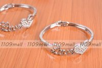 asian services - 100pcs LOVE Peach heart bracelet fashion styleGood quality good service best gift for lovers