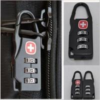 Wholesale 2pcs New Combination Safe Code Number Lock Padlock for Luggage Zipper Bag Backpack Handbag Suitcase Drawer Cabinet