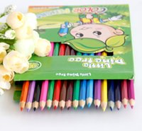 Wholesale 36 Colors PrettyBaby Low Price Wooden Color Pencils for Secret Garden Coloring Books Drawing Painting School Appliance rainbow pencil DHL