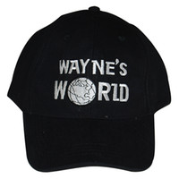 Wholesale Wayne s World Baseball Sport Hat costume Waynes World Cap