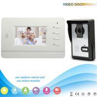 Wholesale XSL V43B3 L V1 night vision with CMOS camera entry monitors inch TFT LCD