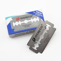 Wholesale Good Quality Per Pack Dorco Platnum Stainless Steel Double Edge Blade Safety Razor Blade