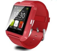Wholesale 8 Photos U8 Smart Bluetooth Watches WristWatch U8 U Watch for iPhone Samsung HTC Android Phone Smartphones MQ50