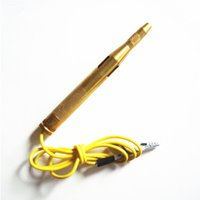 auto repair tools brand - New Brand PC Auto Voltage Tester Pen For Car Motorcycle Circuit Repair Tools DC V V