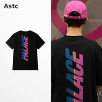 Wholesale New Palace T Shirt Hip Hop Fashion T shirt Men Cotton Orologio Uomo Fitness T shirts Palace T Shirts Trasher Hipster Shirts BTS