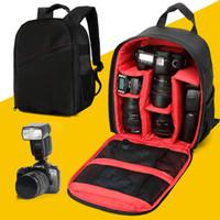 Wholesale 2016 New Camera Dslr Bag Waterproof Pattern DSLR Camera Bag backpack Video Photo Bags for Camera Small Compact Camera Bakpack DL B017