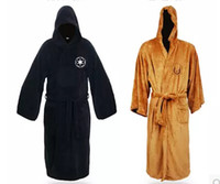 Wholesale Hot Sale Star Wars Darth Vader Coral Fleece Terry Jedi Adult Bathrobe Robes Halloween Cosplay Costume for Men Sleepwear