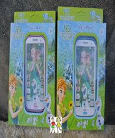 Wholesale Learning Toys English Story Ice Snow Projection Five D Frozen Mobile Machine Princess Girls Touch Screen Phone Toy Electronic Kids Toys Gift