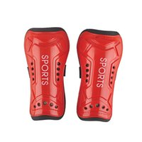 Wholesale Colorful of Ultra Light Plate Soft Foam Football Shin Pads Soccer Guards Sports Leg Protector for Adult Teenage New