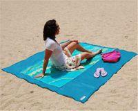 Arena libre de la arena de la estera libre de la estera de la estera de Campingt de la estera libre de la playa del colchón de la playa del colchón de la playa de la estera libre del envío 180X los 130CM