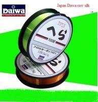 Wholesale 100 Mi Dawa fishing line tensile strength soft Road Department mainline fishing rod sea fishing gear lines