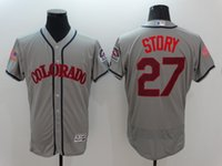 anti story - Colorado Rockies Jersey Men s Trevor Story Gray Flexbase Collection Baseball Jersey Stitched Name Number and Logos