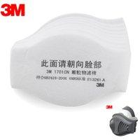 Cheap 10Pcs 3M 1211 Mask Supporting Cotton Dust Filter KN90 Pro Anti Industrial Construction Dust Pollen Haze Poison Gas Filters Set
