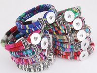 best national - Mixed group new National Charm Bracelets Noosa TrendyBracelet Snap Button Jewelry Wristband Best Gift noosa bracelet nterchangeable