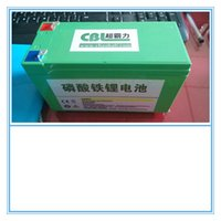 Wholesale CBL GT V Ah li battery pack applied to electric golf carts or trolley with smart charger