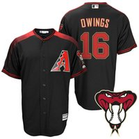 arizona sports shirts - 2016 authentic high quality man sport baseball jersey t shirt Arizona DiamondbacksS Chris Owings Men s Jersey Cool Base Alternate JerseY