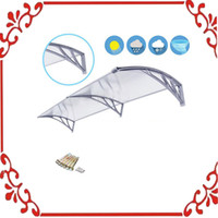 Wholesale Outdoor Polycarbonate x Front Door Window Awning Patio Cover Canopy