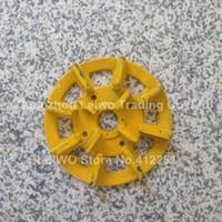 Wholesale 10 Diamond Metal Bond Grinding Disc inch mm Granite Slab Surface Rough Grinding Abrasive Tools Grit
