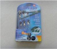 bag zipper repair - 1Set Zipper Sliders Fix Rescue Instant Repair Kit Replacement For DIY Sewing Accessories Tailor Tools Clothes Bags Sizes