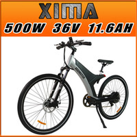 bicycle wheel building - In Stock Addmotor XIMA Man Bicycle Wheel Black V W AH quot Electric Bicycle Newest Frame s Design Built in Battery City Bike