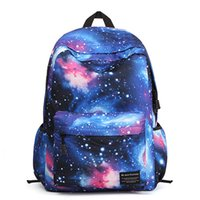Wholesale 2016 new arrival galaxy backpacks multifunctional with large storage for school and outing unisex