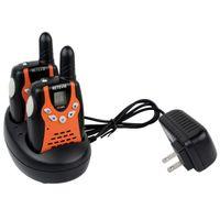 Wholesale 2PCS New Orange Walkie Talkie Retevis RT UHF MHz W CH For Kid Children LCD Display Flashlight VOX Two Way Radio