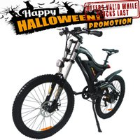 aluminum fork bike - In Stock Addmotor HITHOT Mountain Electric Bicycle H5 Sport High Fork Black V W AH quot Fork Suspension Comparable Electric Bike