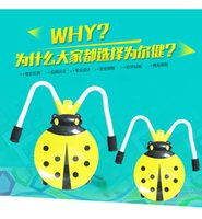 Wholesale Four slide swing car with music light Ladybird beetle yo car shilly car swing car skateboard four light emitting children s toys with music