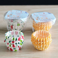 Wholesale 100Pcs Dotted Mini Paper Baking Cups Liner Muffin Cupcake Paper Cake Case BXR