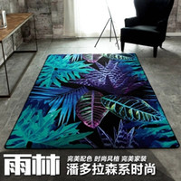 Wholesale Modern Fashion Oil Painting Pandora Forest Carpet Environmental Protection Non slip Living Room Rug1200mm mm mm mm mm mm