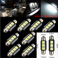 Wholesale 36 mm SMD LED Car Interior Festoon Dome Light Lamp Bulb V CANBUS Error Free