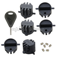 Wholesale 6PCS FCS fin plug with screws plastic surfboard fin box with a fin key