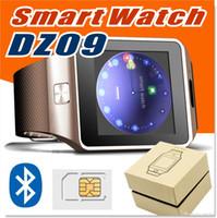 al por mayor espanol-DZ09 Bluetooth smartwatch con cámara GT08 A1 U8 smart watch android smart watchs para apple Samsung teléfono con Passometer Sleep Tracker