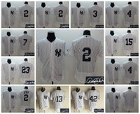 alex rodriguez jerseys - Elite New York Yankees Derek Jeter Babe Ruth Lou Gehrig Alex Rodriguez Thurman Munson Customize Stitched Jersey