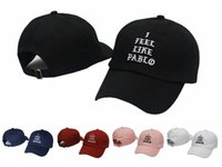 Wholesale 2016 I Feel Like Pablo Embroidered Baseball Cap The Life Of Pablo Kanye West Season Strapback