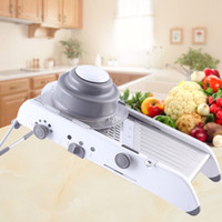 Wholesale Lekoch Adjustable Mandolin Slicer With Stainless Steel Blades Manual Kitchenware Food Slicer for Home Use