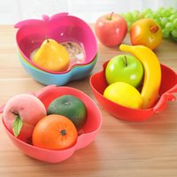 apple storage trays - apples Colorful candy colored cute plum shape snack tray dried fruit plate fruit storage tray