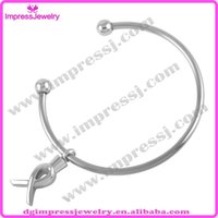 arch china - IJB5025 Ribbon Arched shape Charm Bangle L Stainless Steel Ashes Pendant Cremation Jewelry Urn Bracelet With Free Shippment