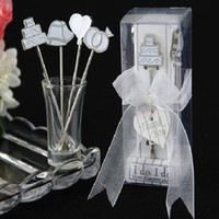 Wholesale Fairy Tale stainless steel fruit fork Wedding Favor Creative wedding gift Gift Box Set